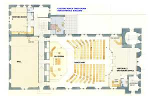 dwg 410 05a  Ground floor plan as proposed